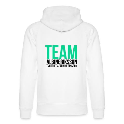 Team albinerikss0n Svart - Ekologisk luvtröja unisex från Stanley & Stella