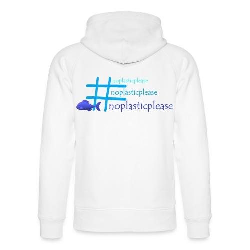 #noplasticplease - Uniseks bio-hoodie van Stanley & Stella