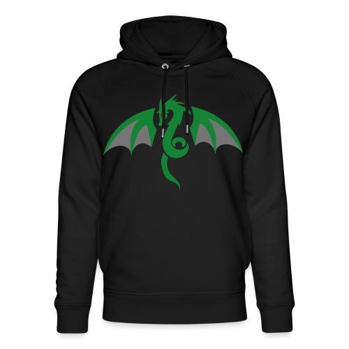 Red eyed green dragon - Uniseks bio-hoodie van Stanley & Stella