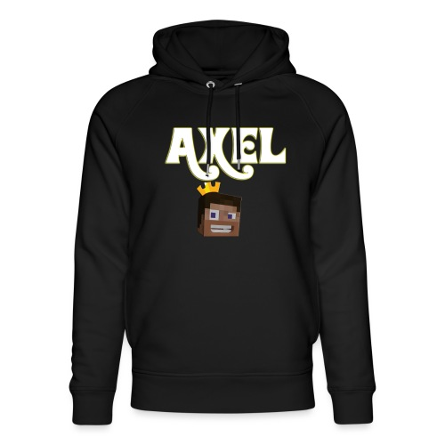 Axel Gam3r - Felpa con cappuccio ecologica unisex di Stanley & Stella
