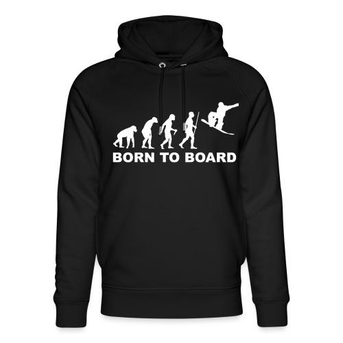 Board_wit - Uniseks bio-hoodie van Stanley & Stella