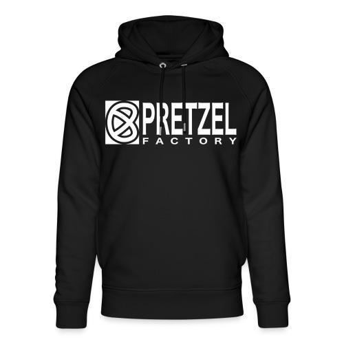 Pretzel Factory Logo Blanc - Sweat à capuche bio Stanley & Stella unisexe