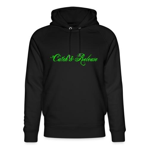 Catch N Release Neon Green - Sweat à capuche bio Stanley & Stella unisexe