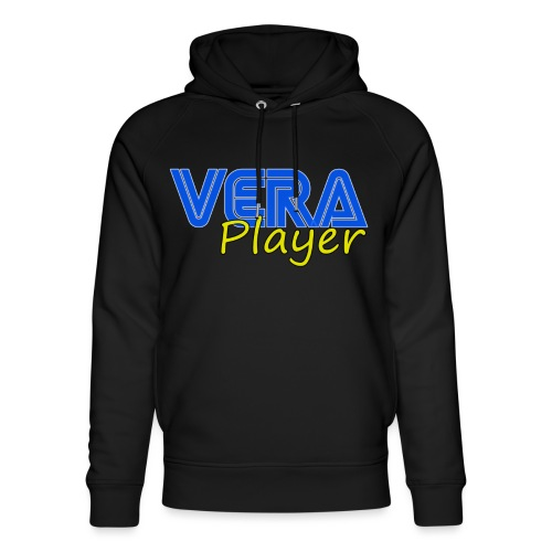 Vera player shop - Sudadera con capucha ecológica unisex de Stanley & Stella
