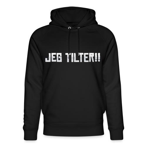 Jeg TILTER! - Stanley & Stella unisex hoodie af økologisk bomuld