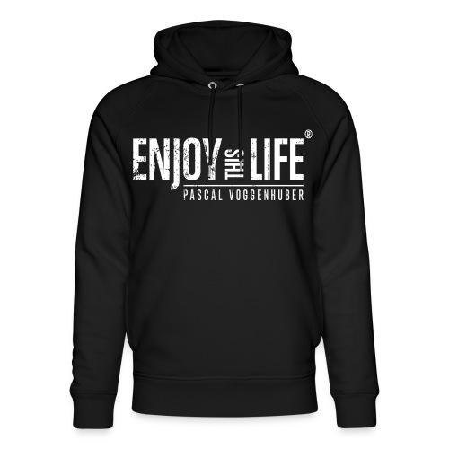 Enjoy this Life® Classic weiss Pascal Voggenhuber - Unisex Bio-Hoodie von Stanley & Stella