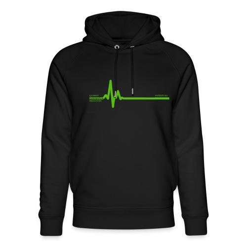 Querbeet EKG - Unisex Bio-Hoodie von Stanley & Stella