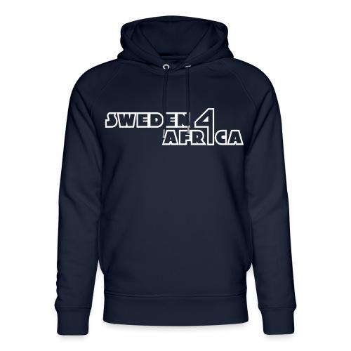 sweden 4 africa text logo v2 white - Ekologisk luvtröja unisex från Stanley & Stella
