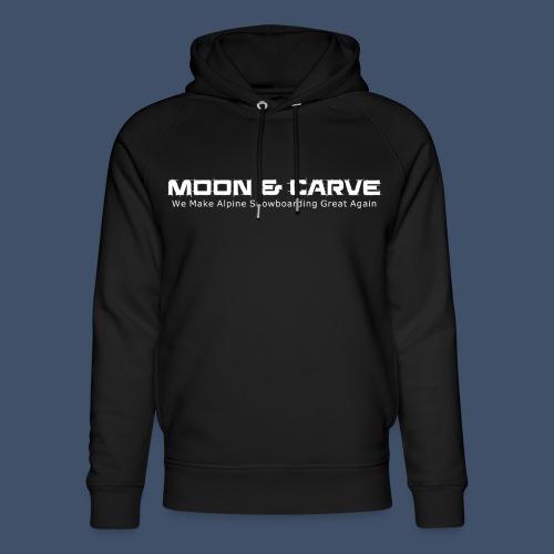 Moon & Carve white - Unisex Bio-Hoodie von Stanley & Stella