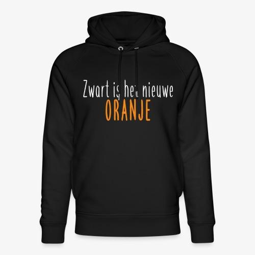 Zwart is het nieuwe oranje - Uniseks bio-hoodie van Stanley & Stella