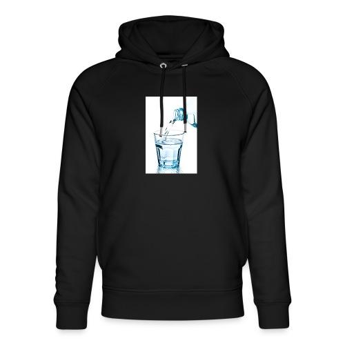Glas-water-jpg - Uniseks bio-hoodie van Stanley & Stella