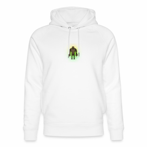 1980's Bigfoot Glow Design - Unisex Organic Hoodie by Stanley & Stella