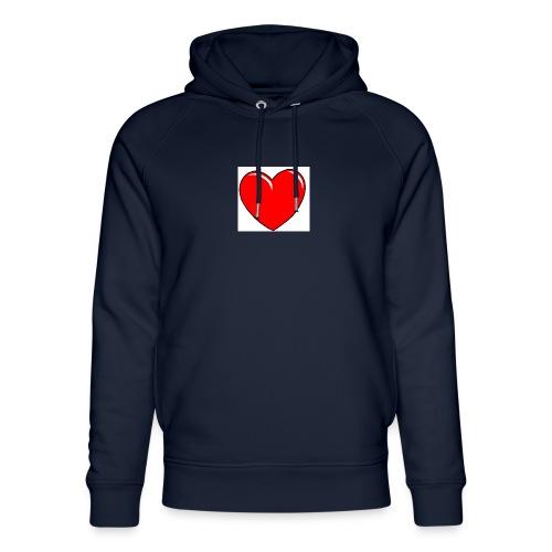 Love shirts - Uniseks bio-hoodie van Stanley & Stella