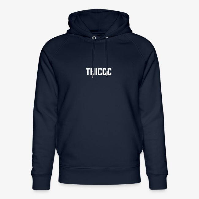 thiccc text logo WHITE