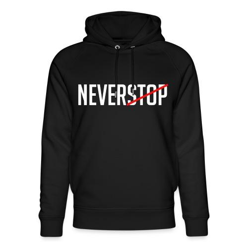 Neverstop - Uniseks bio-hoodie van Stanley & Stella