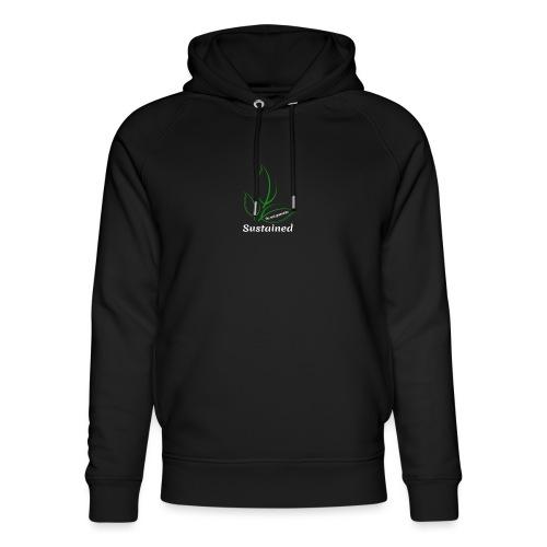 Sustained Sweatshirt Navy - Stanley & Stella unisex hoodie af økologisk bomuld