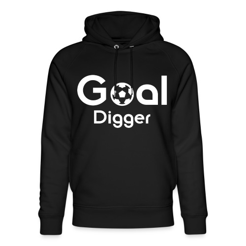 Goal Digger 2 - Unisex Organic Hoodie by Stanley & Stella