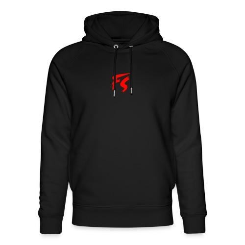 FS Logo rood - Uniseks bio-hoodie van Stanley & Stella