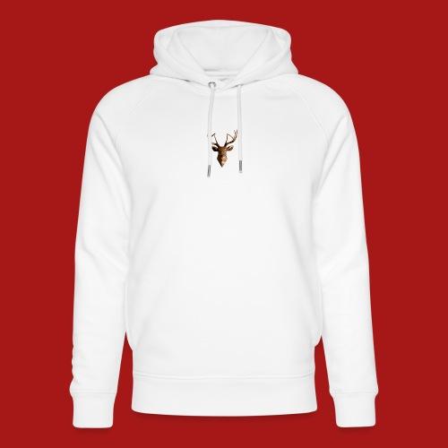Deer-Head GOLD - Stanley & Stella unisex hoodie af økologisk bomuld