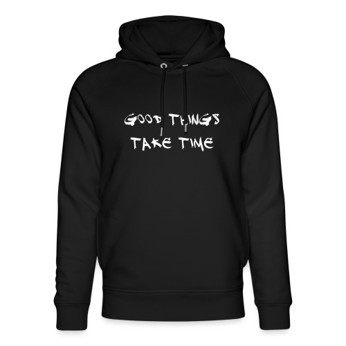 QUOTES - Unisex Organic Hoodie by Stanley & Stella