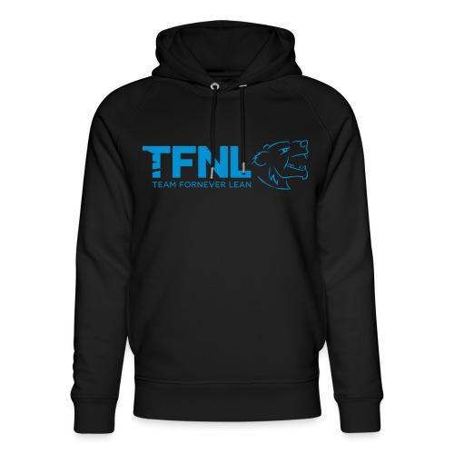 TFNL Blue Logo Hoodie - Unisex Organic Hoodie by Stanley & Stella