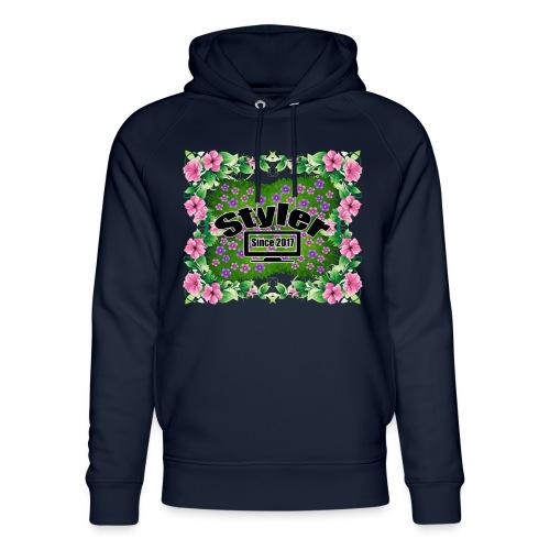 Styler Bloemen Design - Uniseks bio-hoodie van Stanley & Stella