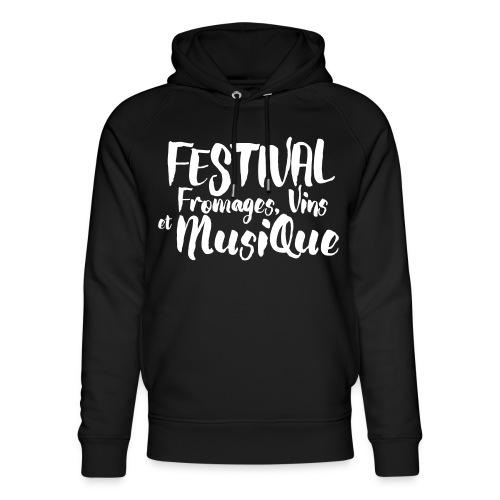 Festival FVM - Sweat à capuche bio Stanley & Stella unisexe