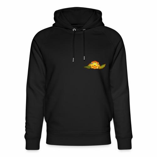 Boze Turtle Fluo - Uniseks bio-hoodie van Stanley & Stella