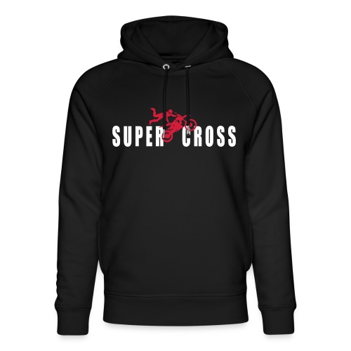 air Supercross - Sweat à capuche bio Stanley & Stella unisexe