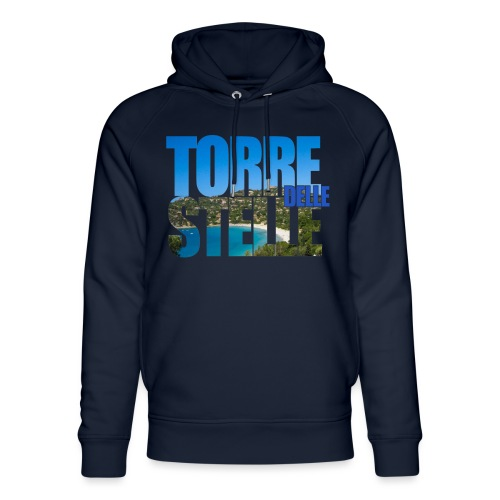 TorreTshirt - Felpa con cappuccio ecologica unisex di Stanley & Stella