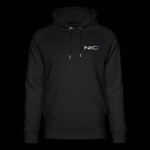 NICI logo WHITE - Stanley & Stellan unisex-luomuhuppari