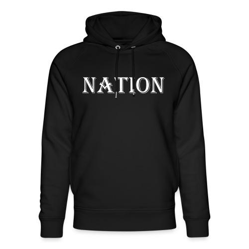 Nation - Uniseks bio-hoodie van Stanley & Stella