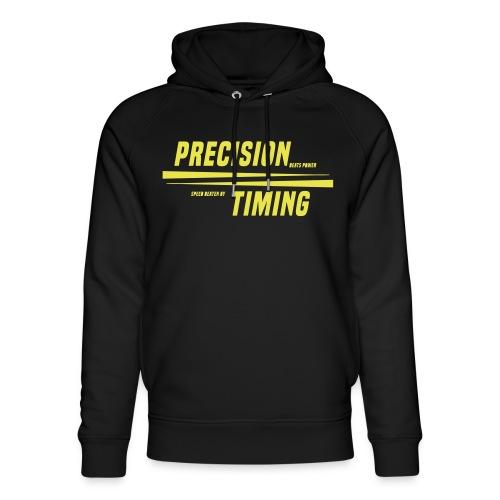 PRECISION & TIMING - Stanley & Stella unisex hoodie af økologisk bomuld