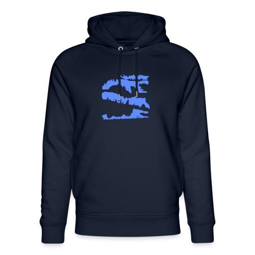 Blue_Sample.png - Unisex Bio-Hoodie von Stanley & Stella