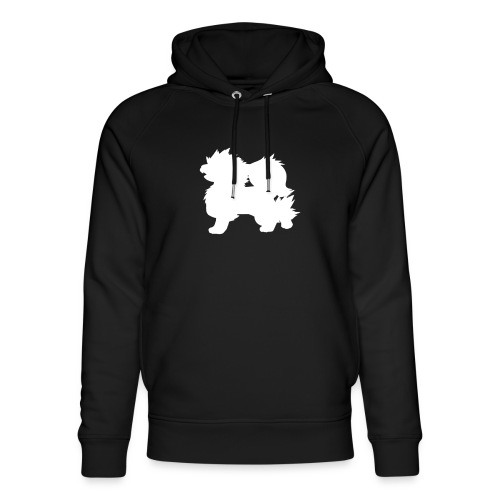 All white Arcanine Merch - Sweat à capuche bio Stanley & Stella unisexe