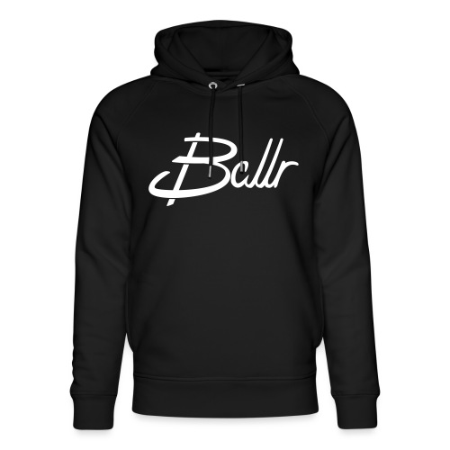 Ballr - Unisex Organic Hoodie by Stanley & Stella