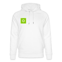 IMB Logo (plain) - Unisex Organic Hoodie by Stanley & Stella - white