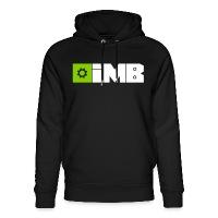 IMB Logo (plain) - Unisex Organic Hoodie by Stanley & Stella - black