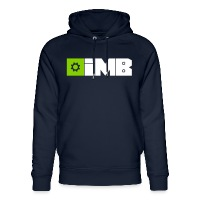 IMB Logo (plain) - Unisex Organic Hoodie by Stanley & Stella - navy