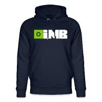 IMB Logo (plain) - Unisex Organic Hoodie by Stanley & Stella navy