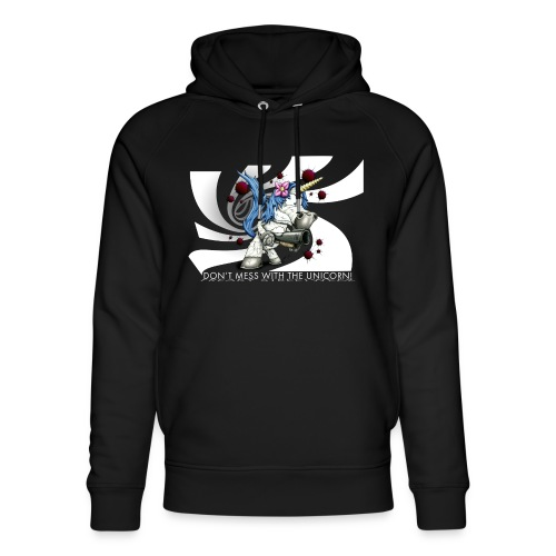 Don't mess with the unicorn - Unisex Bio-Hoodie von Stanley & Stella