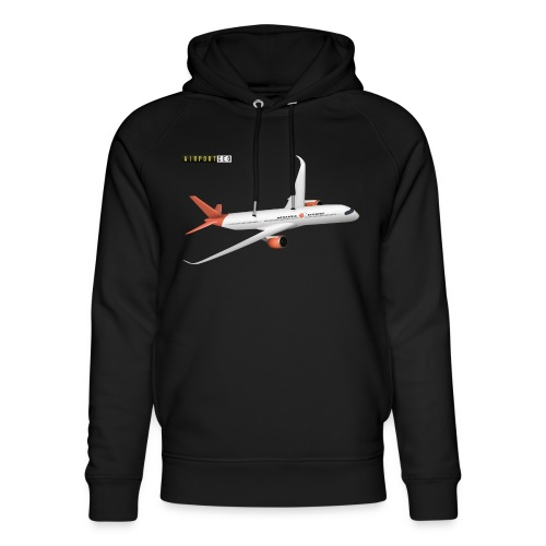 Apoapsis Airlines - Unisex Organic Hoodie by Stanley & Stella