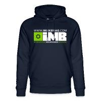 IMB Logo - Unisex Organic Hoodie by Stanley & Stella navy