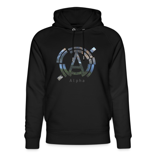 AlphaOfficial Logo T-Shirt - Unisex Organic Hoodie by Stanley & Stella