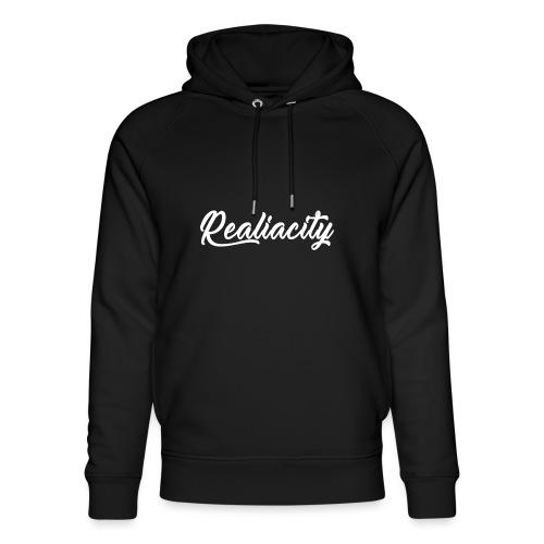 Realiacity Logo - Sudadera con capucha ecológica unisex de Stanley & Stella