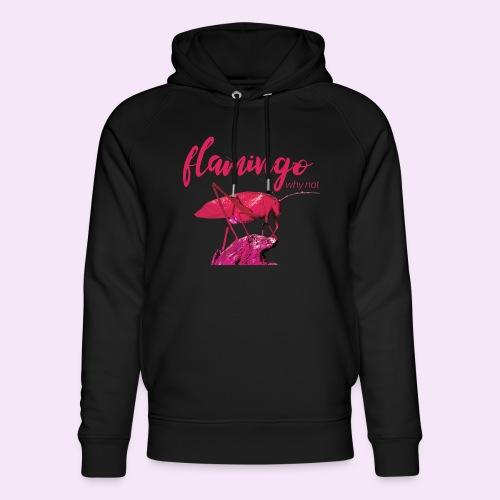 Wannabe Flamingo Sprinkhaan HOT PINK BABY - Uniseks bio-hoodie van Stanley & Stella