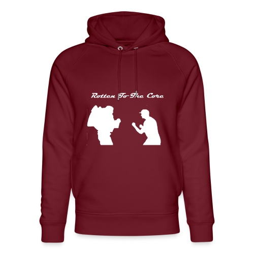 Rotten To The Core - Unisex Organic Hoodie by Stanley & Stella