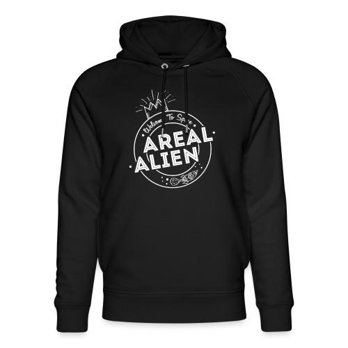 Alien - Hipster Logo Design - Unisex økologisk hettegenser fra Stanley & Stella