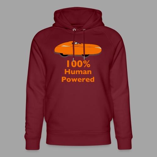 100% human powered - Stanley & Stellan unisex-luomuhuppari