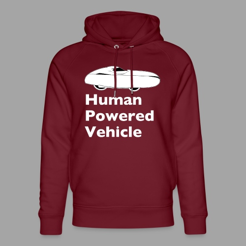 Quest Human Powered Vehicle 2 white - Stanley & Stellan unisex-luomuhuppari